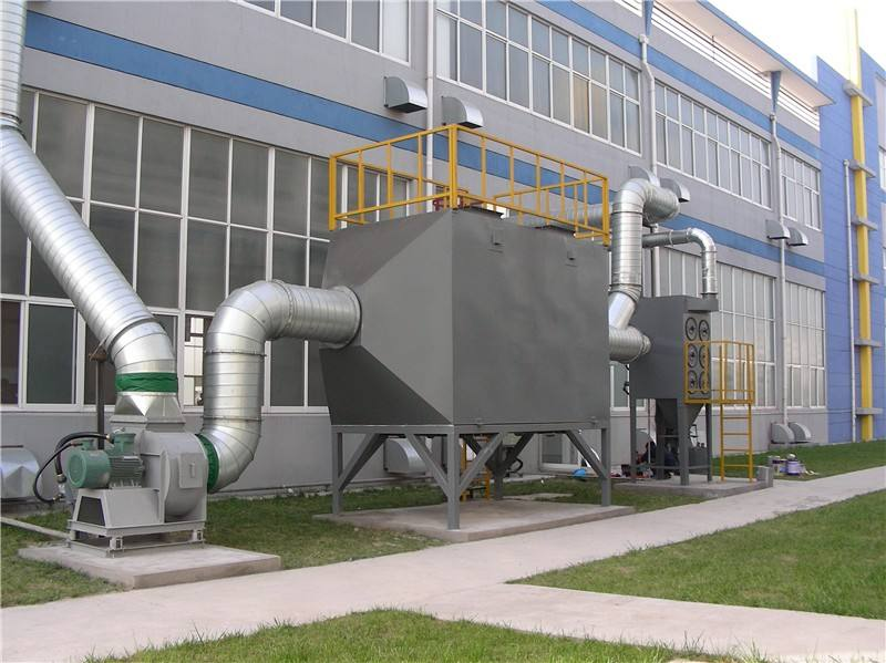 喷漆房废气解决净化设备便利安全